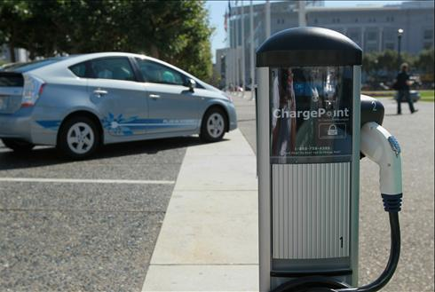 Nissan Leaf Chargepoint